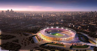Project of Olympic stadium in London