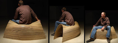 wood seating