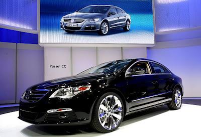 2007 Detroit Auto Show - Volkswagen Passat CC