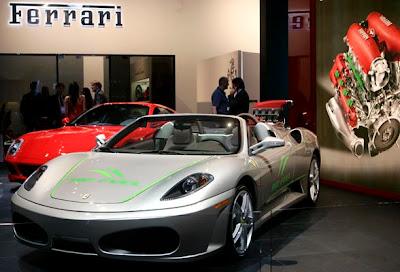 2007 Detroit Auto Show - Ferrari F430 Spider