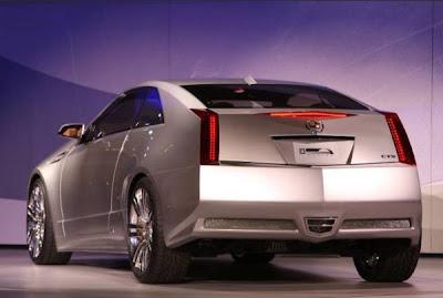2007 Detroit Auto Show - Cadillac CTS coupe