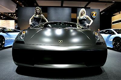 2007 Detroit Auto Show - Lamborghini Gallardo Spyder