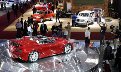 2007 Detroit Auto Show - Lexus LF-A