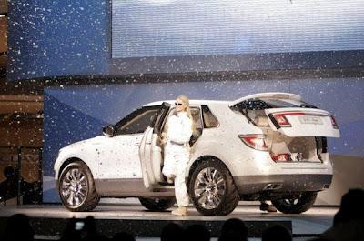 2007 Detroit Auto Show - Saab 9-4x biopower concept