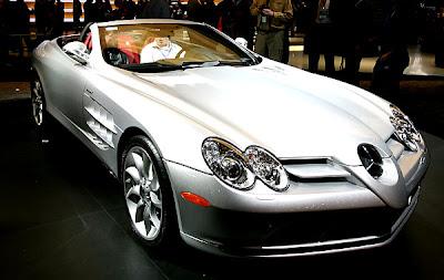 2007 Detroit Auto Show - Mercedes McLaren Roadster
