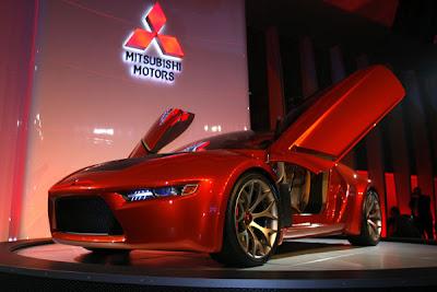 2007 Detroit Auto Show - Mitsubishi Concept-RA