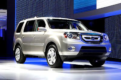2007 Detroit Auto Show - Honda Pilot concept
