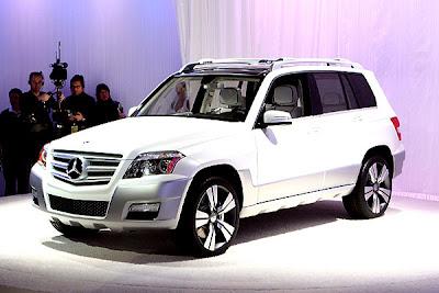 2007 Detroit Auto Show - Mercedes GLK