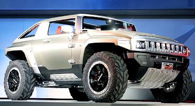 2007 Detroit Auto Show - Hummer HX