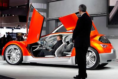 2007 Detroit Auto Show - Dodge Zeo concept