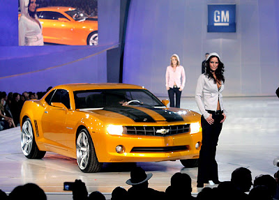 2007 Detroit Auto Show - Chevrolet Camaro Bumblebee