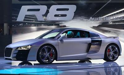 2007 Detroit Auto Show - Audi R8 V12 TDI