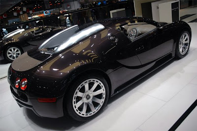 Bugatti Veyron Fbg par Hermes at the 2008 Geneva Motor Show