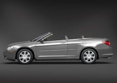 drive line chrysler sebring cabrio european premiere at geneva. Black Bedroom Furniture Sets. Home Design Ideas