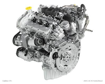 2.9L V6 diesel for CTS