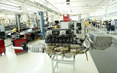 Lamborghini Murciélago LP640  factory