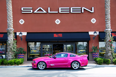 Saleen Molly Pop Mustang