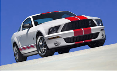 2007 Shelby GT500 Red Stripe Package
