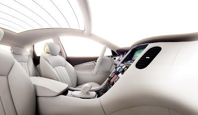 Infiniti EX Concept interior photos