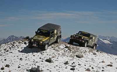 Jeep Wrangler Altitude Record