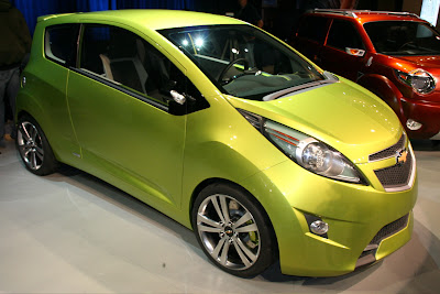 2007 Chevy Beat Concept at the New York Auto Show