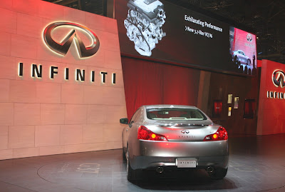 Infiniti G37 Coupe World Debut at New York Auto Show