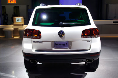 2008 Volkswagen Touareg 2 U.S. at the New York Auto Show