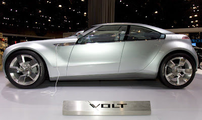 2007 New York International Auto Show Chevy Volt hybrid concept