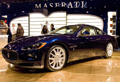 2007 New York International Auto Show Maserati GranTurismo concept