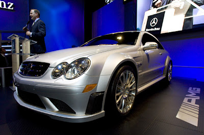 2007 New York International Auto Show Mercedes CLK63 AMG
