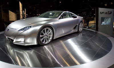 2007 New York International Auto Show Lexus LF-A concept