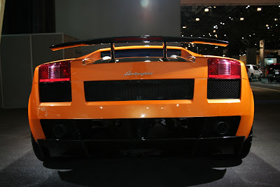 Lamborghini Gallardo Superleggera at the New York Auto Show