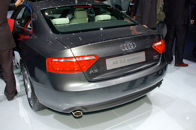 Audi A5 and S5 at the 2007 New York Auto Show