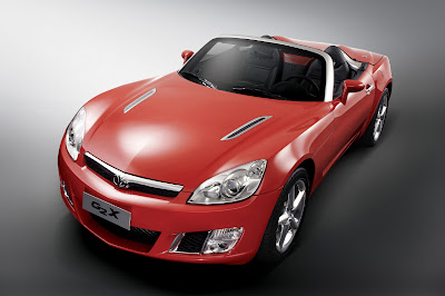 Daewoo G2X roadster concept Seoul motor show