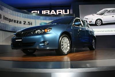 2008 Subaru Impreza at the New York Auto Show