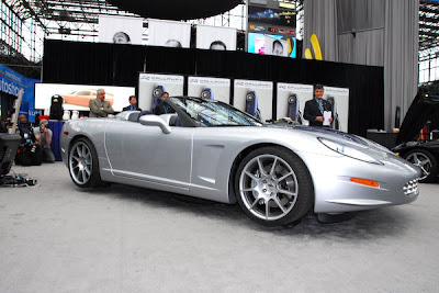 Callaway C16 Cabrio at the 2007 New York Auto Show
