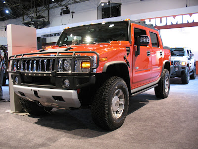 2008 HUMMER H2 at the 2007 New York Auto Show