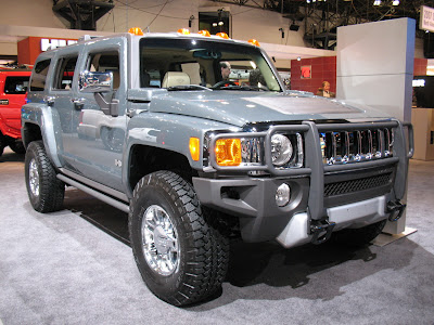 2008 HUMMER H3 Alpha at the 2007 New York Auto Show