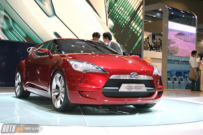 Hyundai Veloster Concept at the Seoul Motor Show