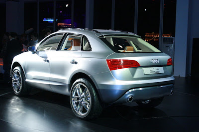 Audi Cross Coupe Concept at the 2007 Shanghai Auto Show