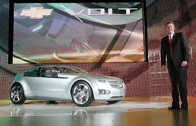 Chevrolet Volt E-Flex Concept at the 2007 Shanghai Auto Show