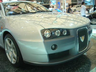 Geely Meirenbao II concept at the 2007 Shanghai Auto Show