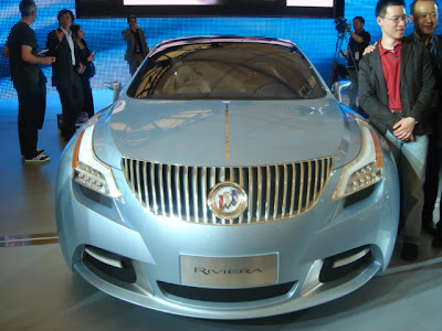 2007 Shanghai Auto Show: Buick Riviera Concept Debuts