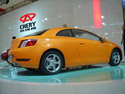 Chery A6CC Concept at the 2007 Shanghai Auto Show