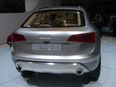 Audi Cross concept at the 2007 Shanghai Auto Show