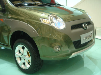 Great Wall GW413EF at the 2007 Shanghai Auto Show