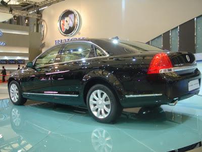 Shanghai Auto Show: 2007 Buick Park Avenue