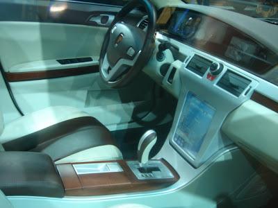 Roewe W2 Concept at the 2007 Shanghai Auto Show
