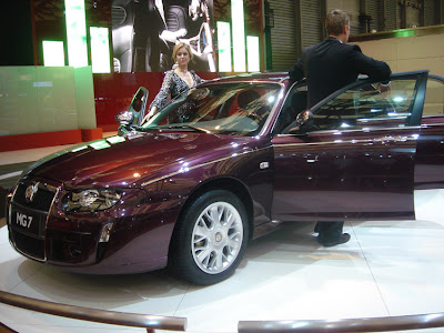 MG7 at the 2007 Shanghai Auto Show