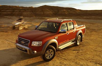 Ford Ranger Wildtrak UK